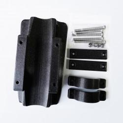 Support batterie noir métallisé